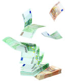 banknoty euro Fotografia Stock