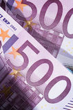 banknoty euro Obrazy Royalty Free