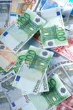 banknoty euro Fotografia Royalty Free