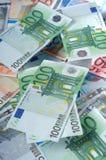 banknoty euro Zdjęcie Stock