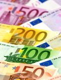 banknoty euro Zdjęcie Royalty Free