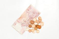 banknoty tajlandzcy Obraz Royalty Free