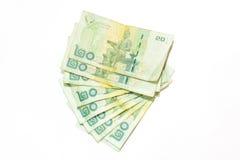 banknoty tajlandzcy Zdjęcie Stock