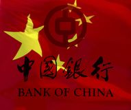 Bankof Chine Images stock