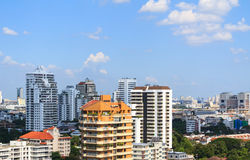 Bankok Таиланд города здания Стоковое Фото