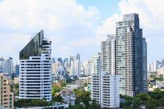 Bankok Таиланд города здания Стоковая Фотография