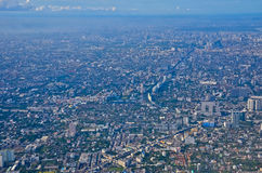 Bankok City. Buildings in Bangkok, capital of Thailand Royalty Free Stock Photo
