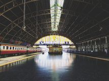 The Bankok train station stock image