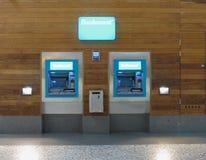 Bankomat ATM现钞机 库存照片