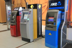 Bankomat ATM Royaltyfri Fotografi