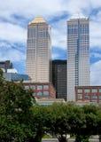 bankowów sala wzrost góruje dwa Obraz Stock