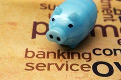 Bankowości usługa pojęcie zdjęcia stock