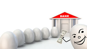 bankowości inwestycja Zdjęcie Royalty Free