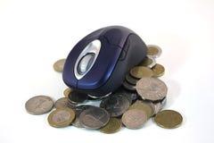 bankrörelseinternet Royaltyfria Bilder