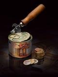 Bankrekening het openen Stock Afbeelding
