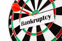Bankrott Stockfotografie