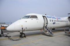 Bankrott gehendes Eurolot Stockbild