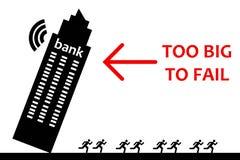 Bankructwo royalty ilustracja