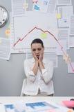 Bankrupcty und Verlustkonzept Stockbilder
