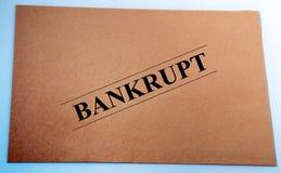 Bankrupt Lizenzfreie Stockfotos