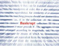 Bankrupt Lizenzfreies Stockfoto