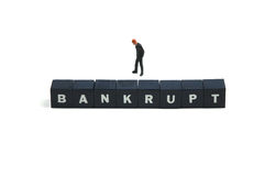 Bankrupt Stock Photography