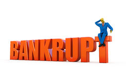 Bankrupt concept Stock Photo