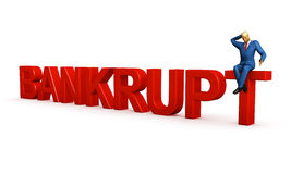 Bankruptcy Royalty Free Stock Photo