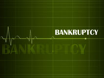 Bankruptcy. Concept Of Bankruptcy, Financial Problem stock illustration