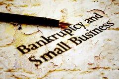Bankruptcy business Stock Photos