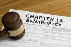 Bankruptcy Chapter 13 Stock Photos