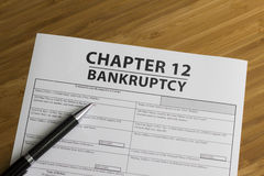 Bankruptcy Chapter 12 Stock Photography