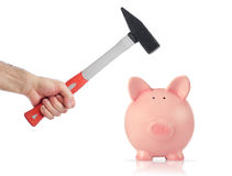 Bankruptcy concept Stock Photo