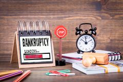 Free Bankruptcy Loading Concept Stock Photo - 144644970