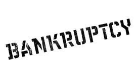 Bankruptcy stamp rubber grunge Stock Image