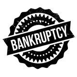 Bankruptcy stamp rubber grunge Royalty Free Stock Image