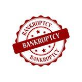 Bankruptcy stamp illustration. Bankruptcy stamp seal stamp illustration Royalty Free Stock Photos