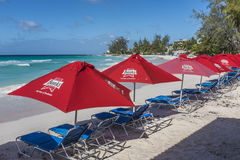 Banks beer sun shades Accra Barbados Stock Photos