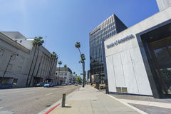 Banks in Beverly Hills Royalty Free Stock Photography