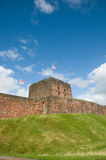 Banks of the castle Royalty Free Stock Images