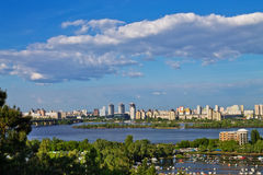 Banks of the Dnieper Royalty Free Stock Photos
