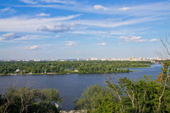 Banks of the Dnieper Stock Images