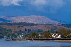 Banks Of Gare Loch Royalty Free Stock Photo