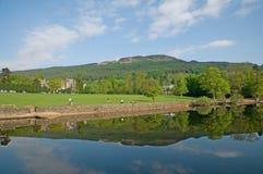 banks Loch Lomond Fotografering för Bildbyråer