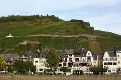 On the banks of the Mosel river,Germany Stock Images