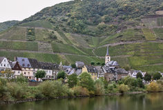 On the banks of the Mosel river,Germany Royalty Free Stock Photos