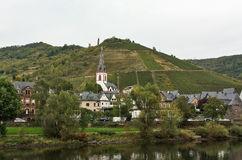 On the banks of the Mosel river,Germany Stock Image