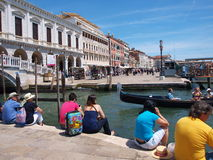 Free Banks Of Canale Grande, Venice, Italy Stock Photos - 22116403