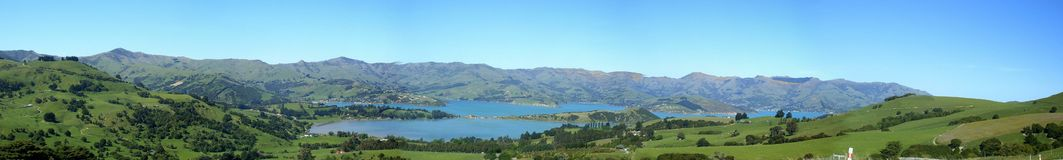 Banks Peninsula. Banks-Peninsula, Canterbury, New-Zealand Royalty Free Stock Photography