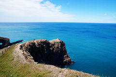 Banks Peninsula in the Canterbury, New Zealand Royalty Free Stock Image